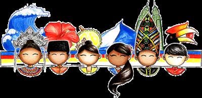 "Doodle 4 Google 2017 Winner! - ""United, We Shine"" by Kai We Ch'ng"