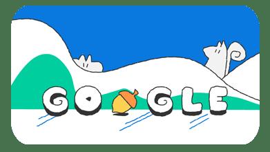Doodle スノーゲーム!(14 日目)