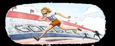100e geboortedag Fanny Blankers-Koen