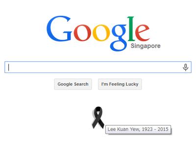 Googleシンガポール 2015年3月23日