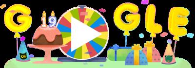 おかげさまで、Google は19歳になりました。
