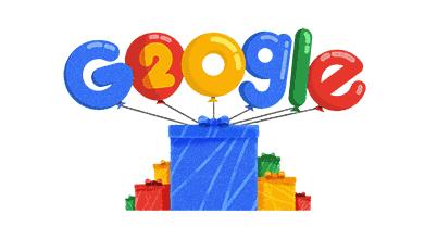 Google 20周年