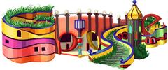 83. Geburtstag von Friedensreich Hundertwasser