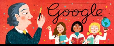 198º aniversario del nacimiento de Juana Manso