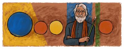 M.F. Husain's 100th Birthday