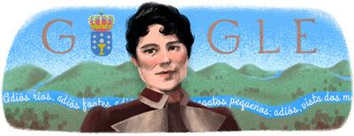 178o aniversario del nacimiento de Rosalía de Castro