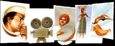 V. Shantaram's 116th birthday