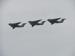 入間基地航空祭2011年 C-1 編隊飛行その2