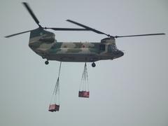 入間基地航空祭2011年 CH-47J飛行