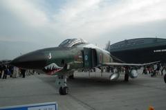 RF-4E地上展示 その1