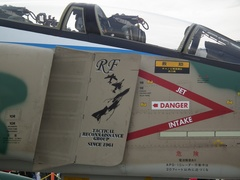 RF-4E地上展示 その3