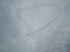 入間基地航空祭2011年 T-4ブルーインパルス編隊飛行 その2