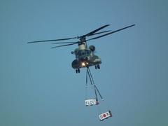入間基地航空祭2012年 CH-47J飛行