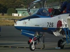 入間基地航空祭2012年 T-4 ブルーインパルス バードストライク