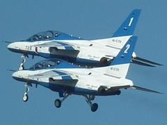 入間基地航空祭2012年 T-4 ブルーインパルス 拡大