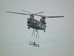 入間基地航空祭2013年 CH-47J飛行