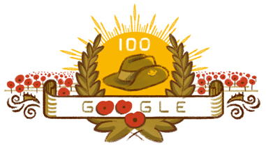 100th anniversary of the ANZAC landing at Gallipoli