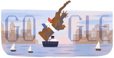 Il y a 130ans la France offrait la Statue de la Liberté aux États-Unis