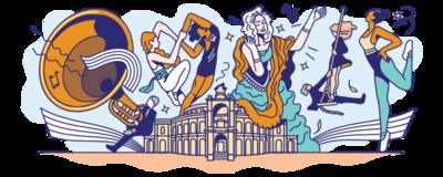 Vor 177 Jahren wurde die Semperoper eröffnet. #GoogleDoodle