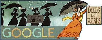 Alice Paul's 131st Birthday Doodle