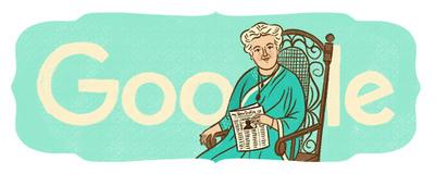 Annie Besant's 168th birthday