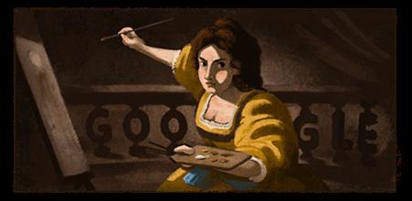 427° anniversario della nascita di Artemisia Gentileschi