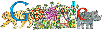 "Happy Children's Day - ""A Place in India I wish to visit"" doodled by Doodle 4 Google 2014 Winner"