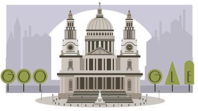 Christopher Wren's 382nd Birthday