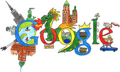 Doodle 4 Google - zwycięska praca Kacpra Barczaka