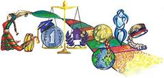 Doodle 4 Google 2013 winner. Designed by Gayatri Ketharaman