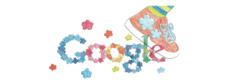Doodle 4 Google グランプリ作品「歩いたところに花が咲くくつ」