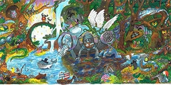 "Doodle 4 Google 2014 - ""Back to Mother Nature"" by Audrey Zhang, 11, NY"