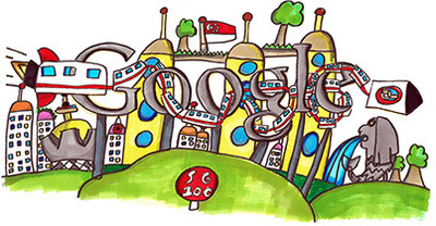 "Doodle 4 Google 2015 - ""Next 50, our first world Singapore"" by Moh Journ Haydn, 8"