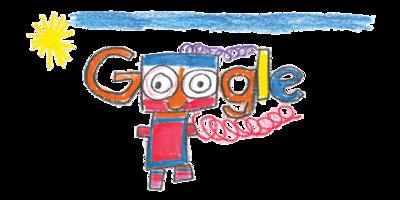 """Ireland Doodle 4 Google 2017 Winner! - """"My Happy Robot Tom"""" by Erica Redmond, Dublin"""