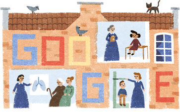 Elizabeth Garrett Anderson's 180th Birthday