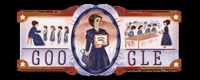 152o aniversario del nacimiento de Eloísa Díaz