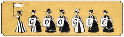 Emmeline Pankhurst's 156th birthday