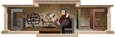 503de verjaardag van Mercator