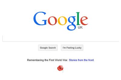 Googleイギリス 2014年11月11日