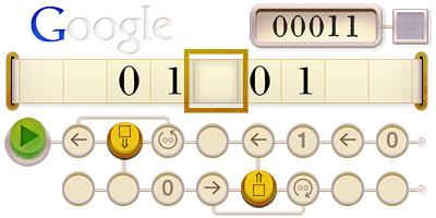 Google 2012年6月23日 チューリングマシン