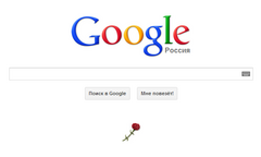 Googleロシア 2013年5月9日