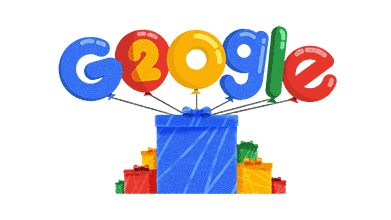 Google's 20th Birthday