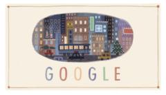 Google より、メリークリスマス!