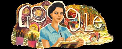Inji Aflatoun's 95th Birthday