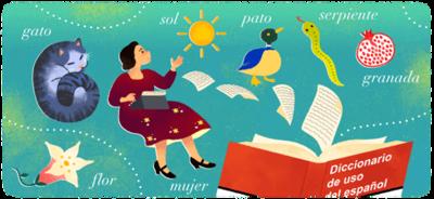 119.o aniversario del nacimiento de María Moliner