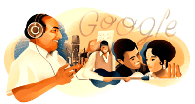 Mohammed Rafi's 93rd birthday