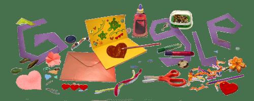 !Feliz Día de la Madre! Diseña y envía arte con todo el corazón en el Google Doodle de hoy.