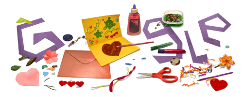 Happy Mother's Day! Craft and send art from your heart in today's Google Doodle