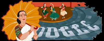 Mrinalini Sarabhai's 100th birthday
