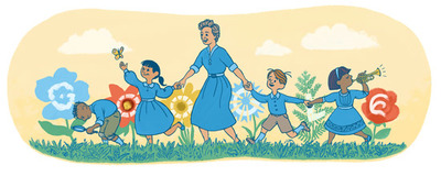 117o cumpleaños de Olga Cossentini